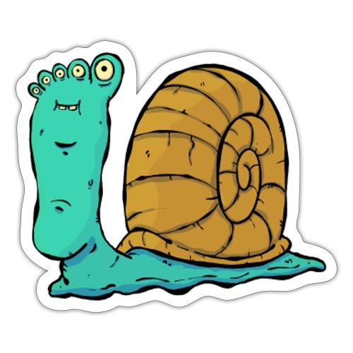 Bigfoot The Snail - Sticker