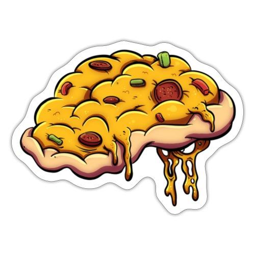 A Lil Pizza Mind - Sticker