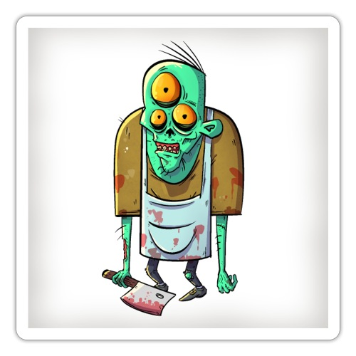 Steve The Butcher - Sticker
