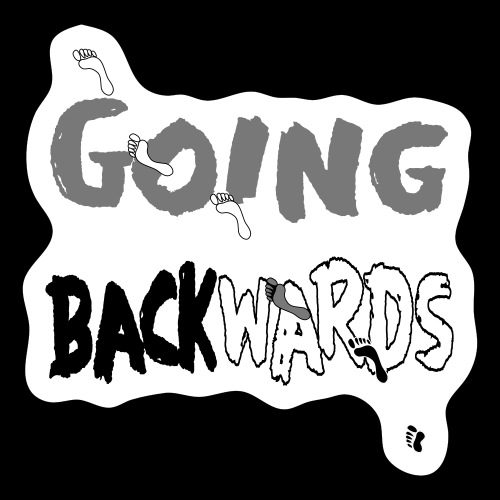 backwardgoing - Sticker