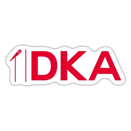 DKA - Czerwone Logo DKA - Naklejka