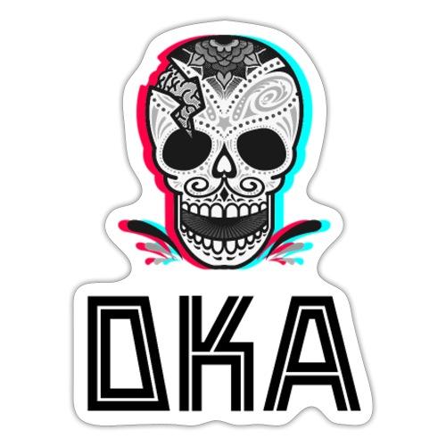 DKA - logo alternatywne - Naklejka