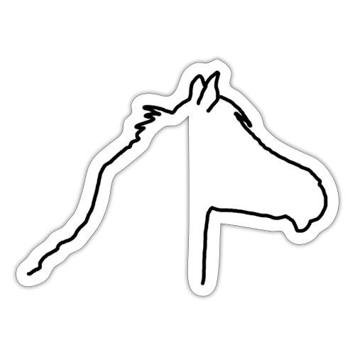 Pferdekopf - Sticker