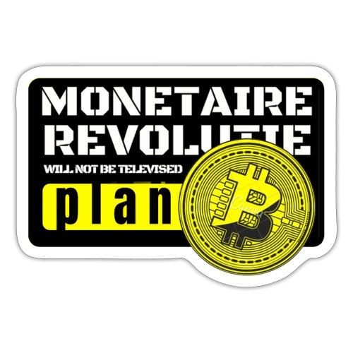 Bitcoin Revolutie - Sticker