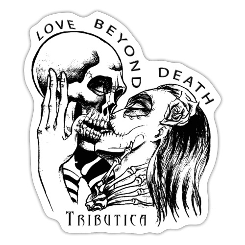 Love beyond Death Colourful - Sticker