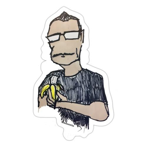 Bananas - Klistermärke