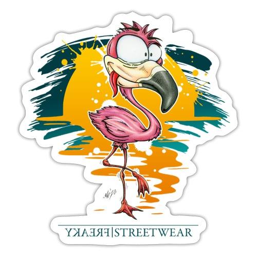 Flamingo Weirdo - Sticker