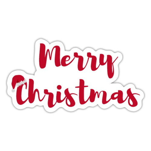 Merry Christmas - Sticker