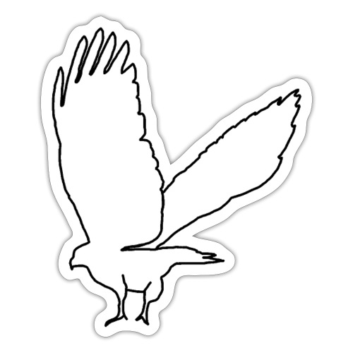 Bussard - Sticker