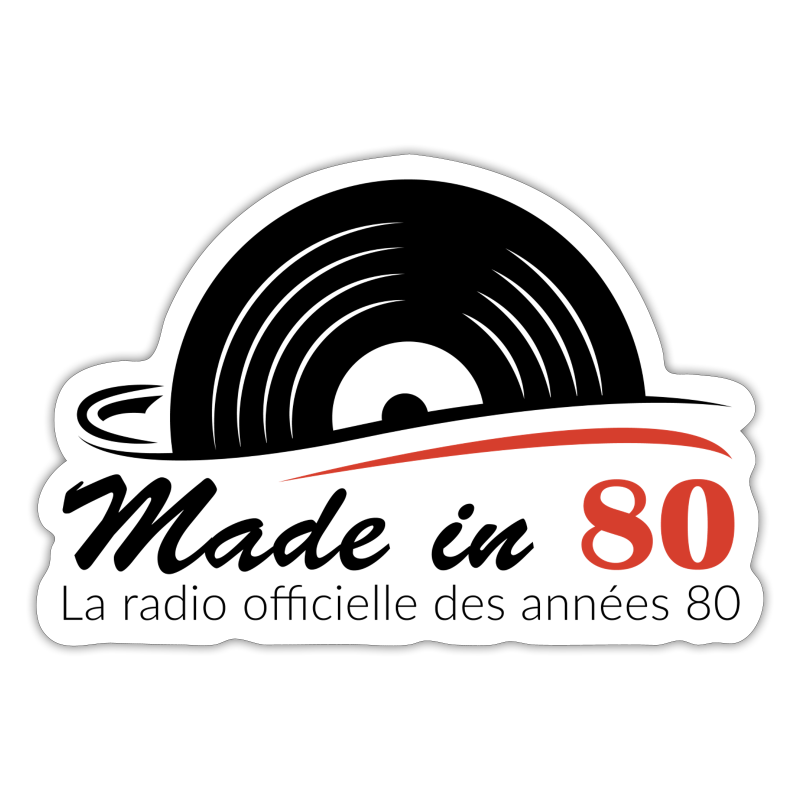 Made in 80 - Autocollant