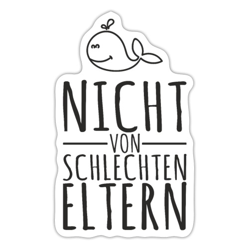 Eltern Baby lustiger Spruch Geschenk - Sticker
