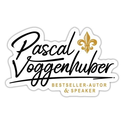 Pascal Voggenhuber Autor & Speaker - Sticker