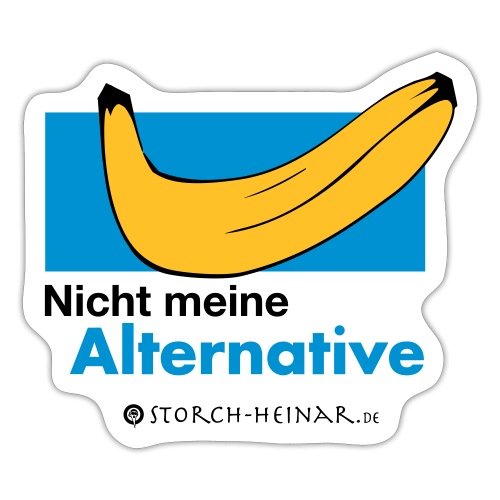 Nicht meine Alternative - Sticker