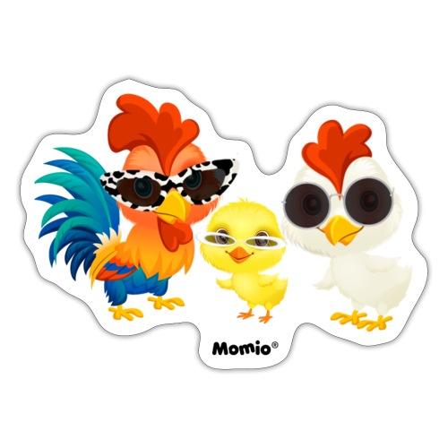 Kip - door Momio Designer Emeraldo. - Sticker