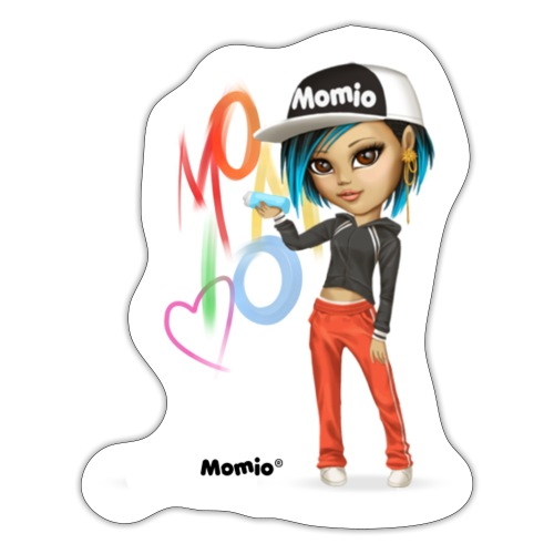 Maya - kirjoittanut Momio Designer Cat9999 - Tarra
