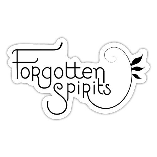 Forgotten Spirits, title - Klistremerke