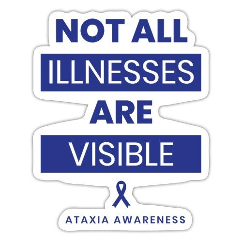 Non tutte le malattie sono visibili - Adesivo