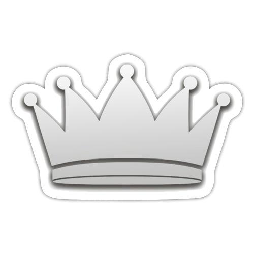 Paradise Online Crown Silver - Sticker