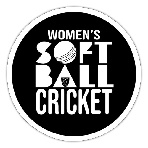 Womens Softball Cricket - Klistermärke