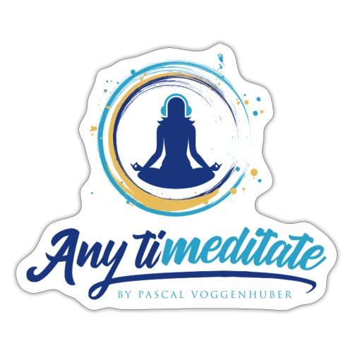 Any timeditate by Pascal Voggenhuber - Sticker