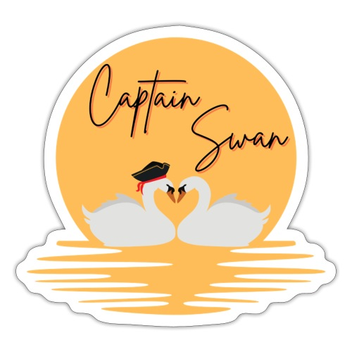 Captain Swan - Autocollant