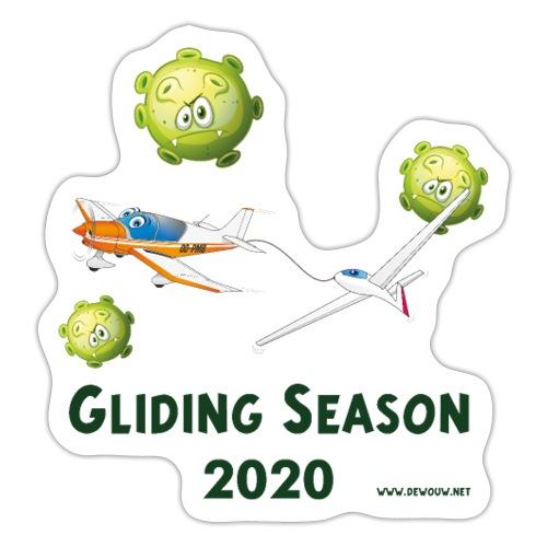 Gliding Season 2020 - drag - Sticker