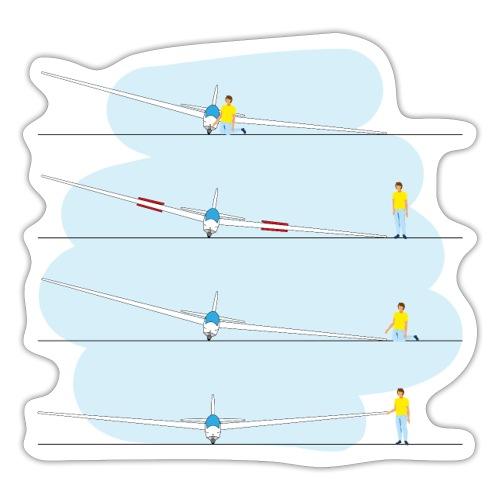 4x tip runner - Sticker