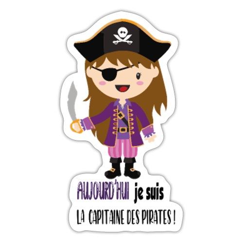 Pirate FILLE - Autocollant