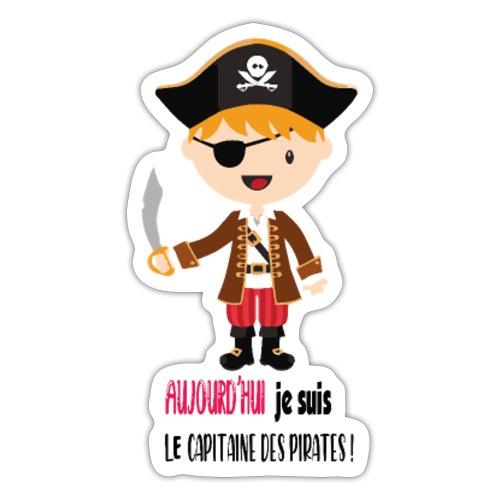 Pirate Garcon - Autocollant