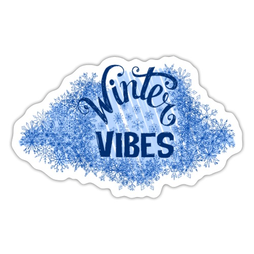 Winter Vibes - Sticker