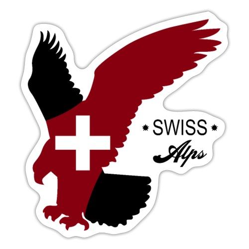 Schweizer Alpen - Sticker