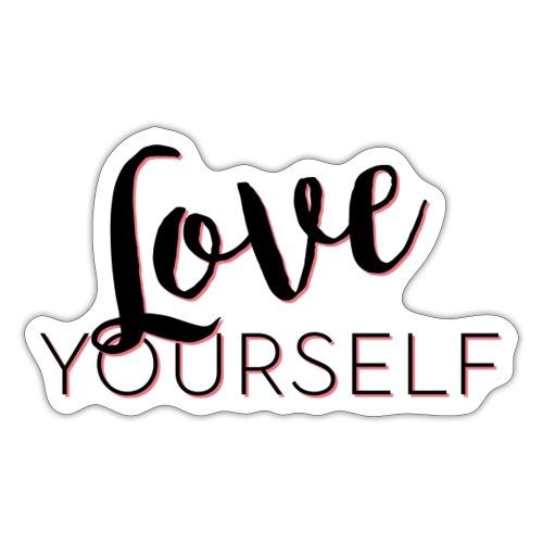 Love Yourself -Schriftzug Pascal Voggenhuber - Sticker