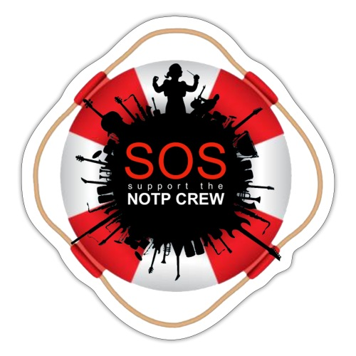 SOS NOTP CREW - Sticker
