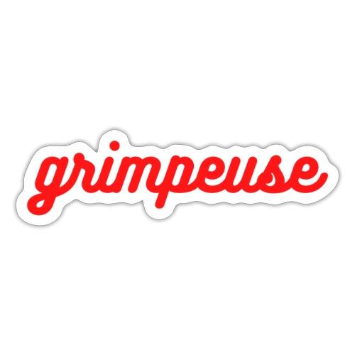 Red grimpeur simple collection - Autocollant