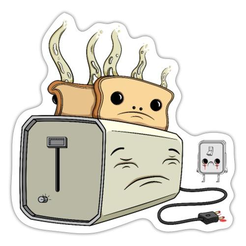 Depressed Toaster - Sticker