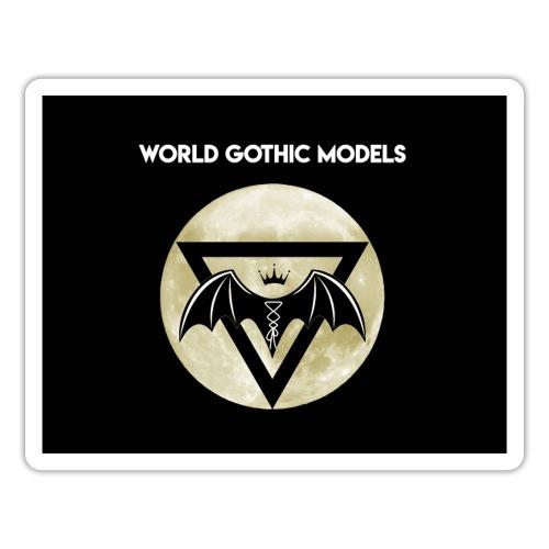WGM Moon Logo One Side Design - Sticker
