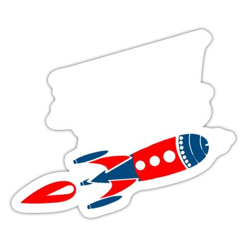 Model rockets copy - kopia modeli rakiet - Naklejka