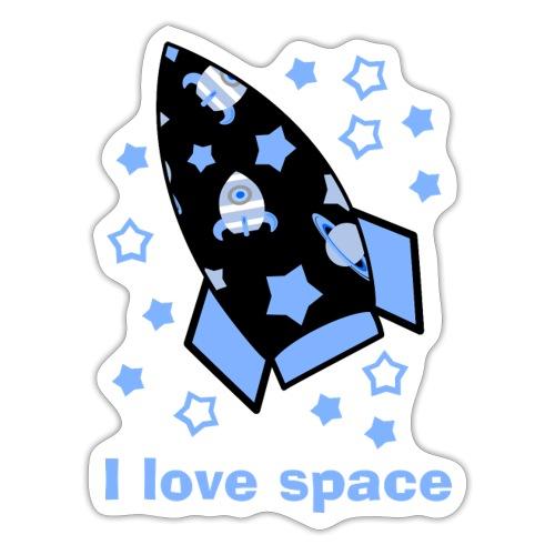 I love space - Adesivo