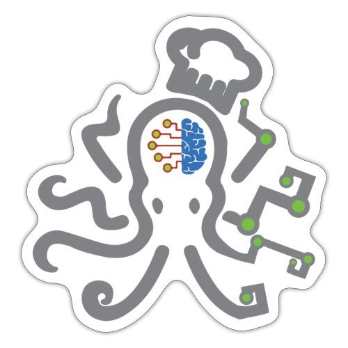DT3 Octopus - Grey - Sticker