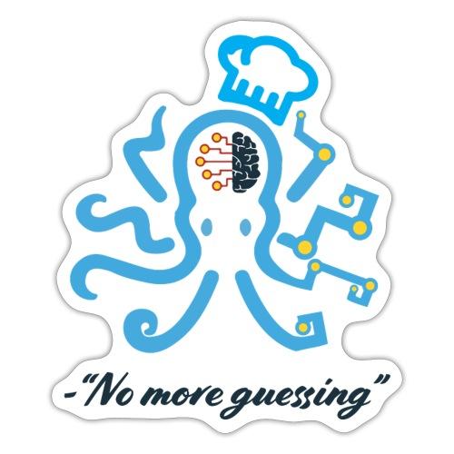 No more guessing - Sticker