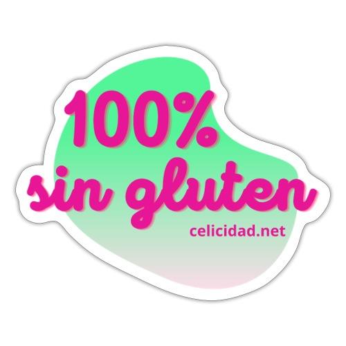 100% sin gluten - Pegatina
