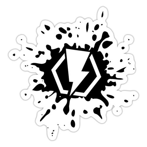 00406 Blitz splash - Pegatina