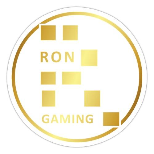 00407 RonGames dorado - Pegatina