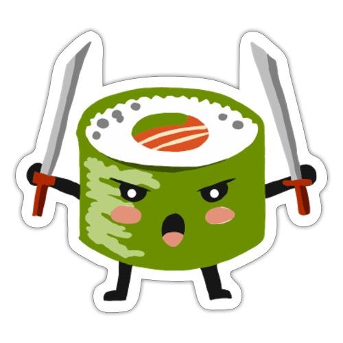 Sushi riso samurai ninja tutti i motivi - Adesivo