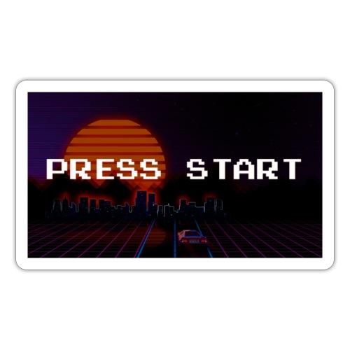 Press Start - Sticker