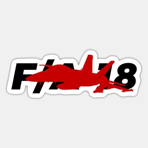 F/A-18 Super Hornet   F 18   F18   F/A18   Hornet - Sticker