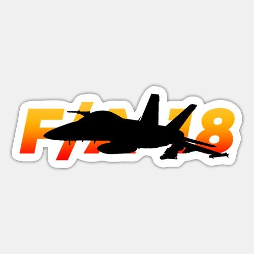 F/A-18 Super Hornet | F 18 | F18 | F/A18 | Hornet - Sticker