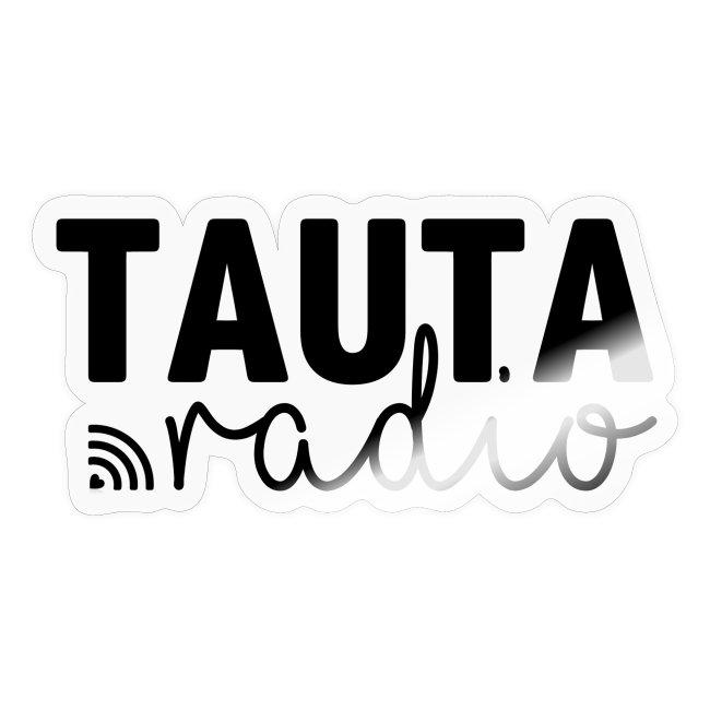Radio Tauta Logo [Black]