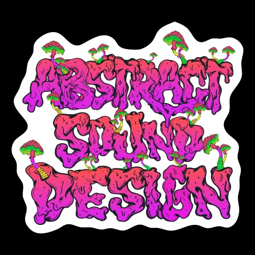 Abstract Sound Design - Sticker