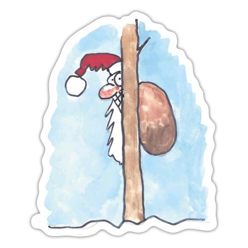 Julkort - Klistermärke